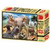 SESTAVLJANKA 3D - AFRIKA 500 KOS 61x46cm SELFIE