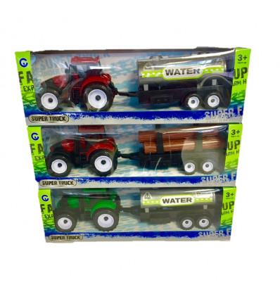 Traktor 28cm, vztrajnik, 2 sort