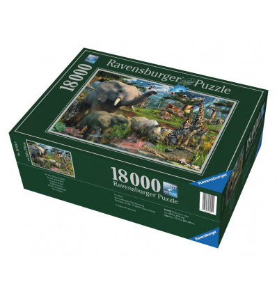Sestavljanka Divje živali 18000d EOL