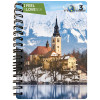 3D NOTEBOOK A6 50L - BLED I FEEL SLOVENIA