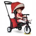 Smart Trike Tricikel 7 v 1 STR5 - Melange rdeč