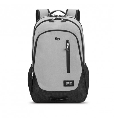 SOLO NY REGION BACKPACK GRAY 15.6